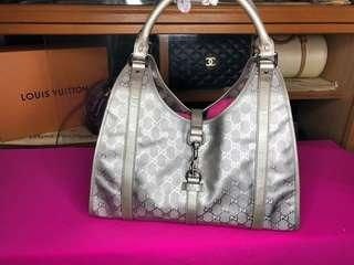 Gucci Metallic Hobo Bag