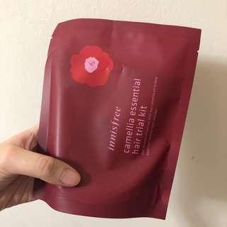 [NEW] INNISFREE CAMELLIA ESSENTIAL TRIAL HAIR KIT