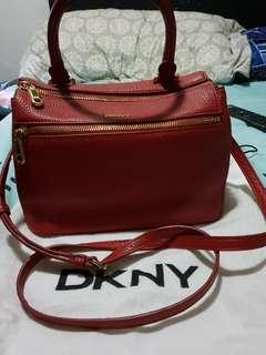 DKNY Red Shoulder Bag
