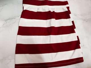 Brand new stripe skirt