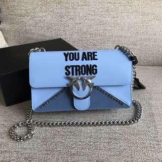 Pinko Love Strong Shoulder Bag