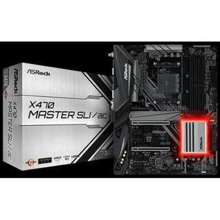 ASRock X470 Master SLI/ac