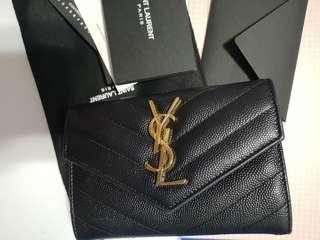YSL small lether wallet