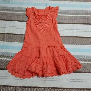 Mothercare Orange Dress