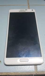 Samsung Galaxy Note 4 (with issues)