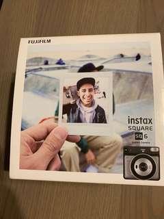Fujifilm instax square sq 6, with local warranty