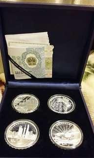 改革開放4O週年紀念銀币