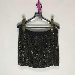 Stradivarius Beaded Skirt (Very pretty and chic in person/perfect for night outs)