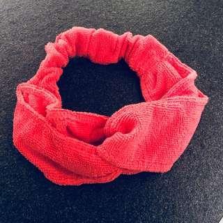 Nano universe 桃紅色洗面巾