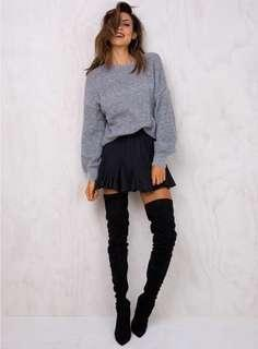 NWT PRINCESS POLLY LITTLE ARCADE KNIT SWEATER