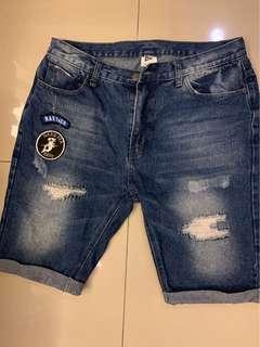 🚚 NAVY&CO 牛仔短褲