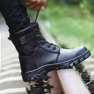 BN Black Badge Steel Toe Safety Boots