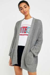 URBAN OUTFITTERS BDG CHARLIE DOLMAN CARDGIAN