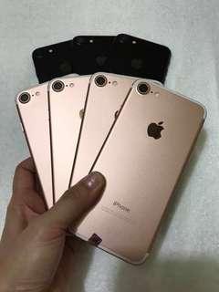 iPhone 7 32gb Rosegold and Matteblack