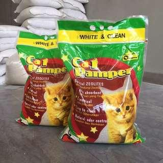 5pkt x 8L Cat Pamper (Cat Litter)