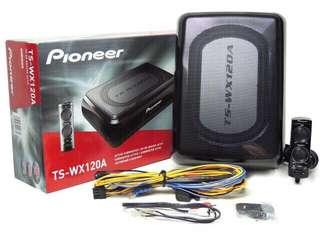 New year offer Pioneer TS-WX120A Active underseat