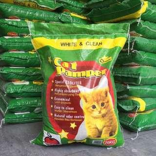 20kg Champion Cat Pamper (Cat Litter)