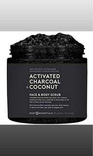 Activated Charcoal + Coconut