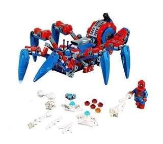 Lego 76114 蜘蛛機同蜘蛛俠人仔(全新未砌)連貼紙和說明書