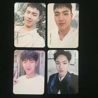 [CEARANCE] MONSTA X SHOWNU THE CLAN PHOTOCARDS