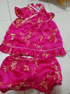 Cny prelove baby cloth set