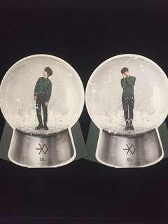[CLEARANCE] EXO MIRACLE IN DECEMBER OFFICIAL SNOWGLOBE