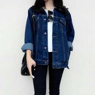 Levis 505 denim jacket oversize jaket jeans