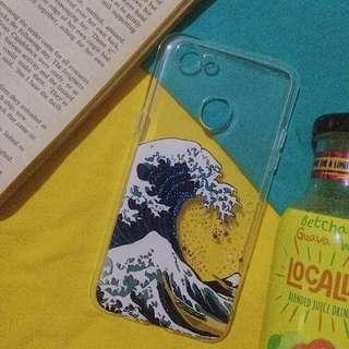 Wave print case