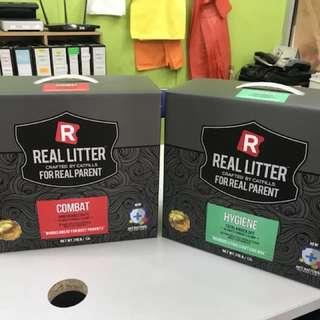 PROMO 2 Box of 13L Real Litter Hygiene/Combat