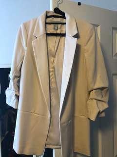 NWOT H&M beige Blazer / jacket