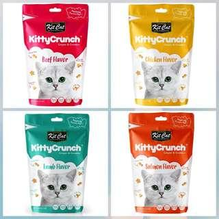 5 pkt x KITCAT Kitty Crunch Treats (Various Flavours)