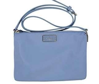 Brand New! Authentic Kate Spade New York Madelyne Wilson Road Crossbody Purse (Cloud Cover)