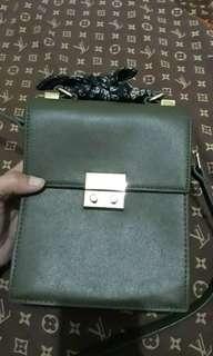 Zara Olive Bag