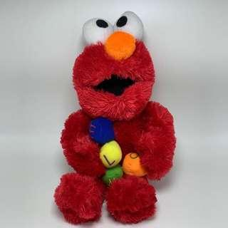 USED ELMO DOLL TOY SOFT TOY 40cm MAINAN