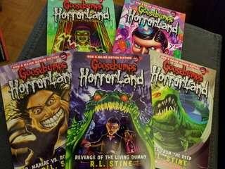 Goosebumps (5 book set)