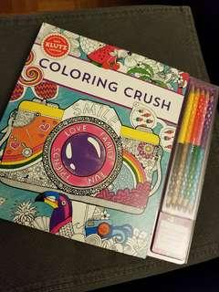 Klutz - Coloring Crush