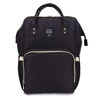 🚚 ❤ On-hand: Diaper Bag / Mommy Bag (Black AF)