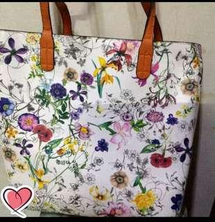 Floral japanese irreversible bag