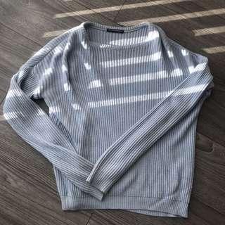 BRANDY MEL. babyblue knit
