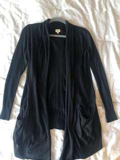 Aritzia Wilfred black cardigan