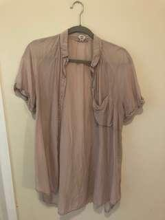 Wilfred shirt with silk