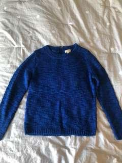 Club Monaco blue sweater