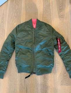 Aloha industies ma-1 flight jacket