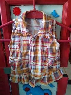 Vest anak kecil 8bulan - 2th
