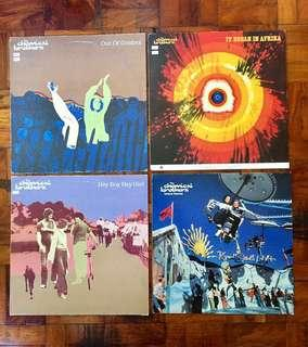 Chemical Brothers Assorted Single Albums