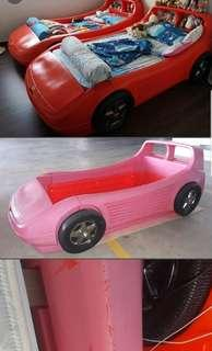 Little tikes car bed frame