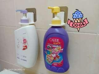 bath soap bottle holder