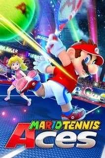 Mario Tennis Ace switch game
