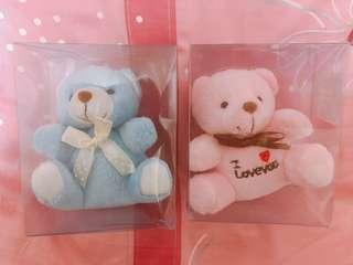 🚚 情侶熊(全新售一對只要69!)要買要快!生日禮物 情人節禮物