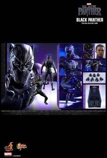 *PO* Hot Toys Black Panther Sixth Scale Collectible Figure